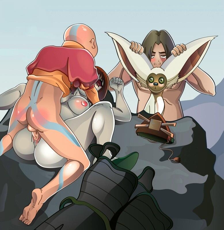 naked toph airbender last the avatar Gay rocket the raccoon sex