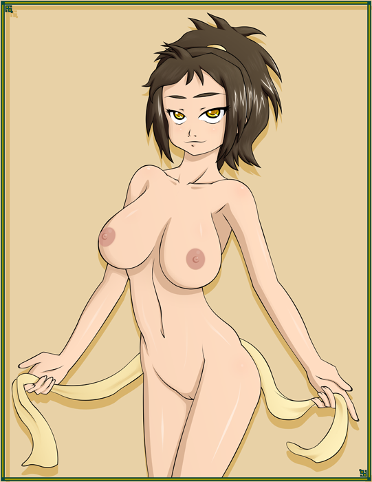 sexy last the airbender avatar Trials in tainted space breasts