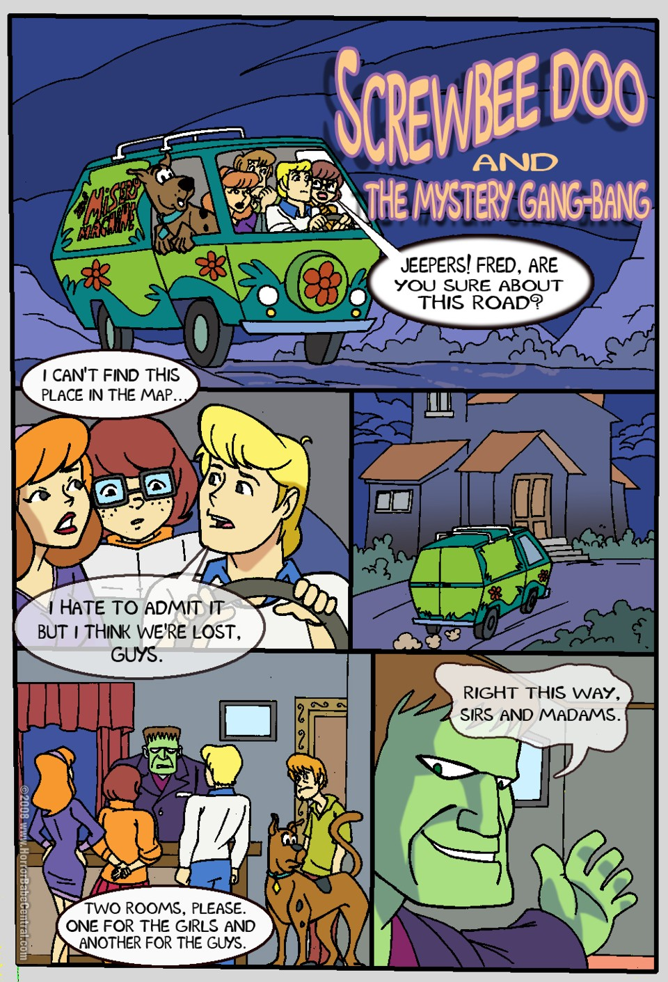mystery xxx incorporated doo scooby This isn't smash bros this is anal sex