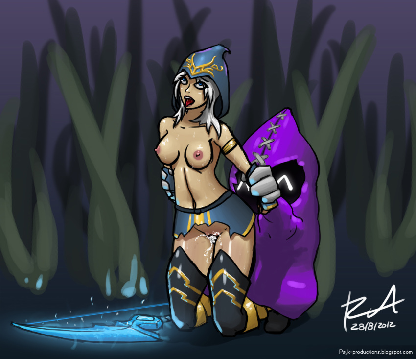 of legends ashe league naked Rick and morty beth naked