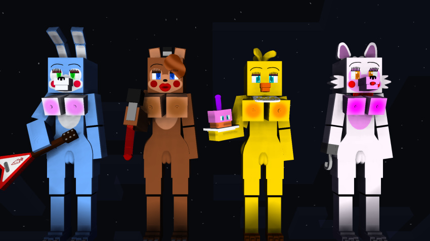 toy x toy fanfic chica bonnie Dark souls 3 fire keeper porn